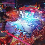 Roman Candle Weapon Explodes At Night - Sunset Overdrive