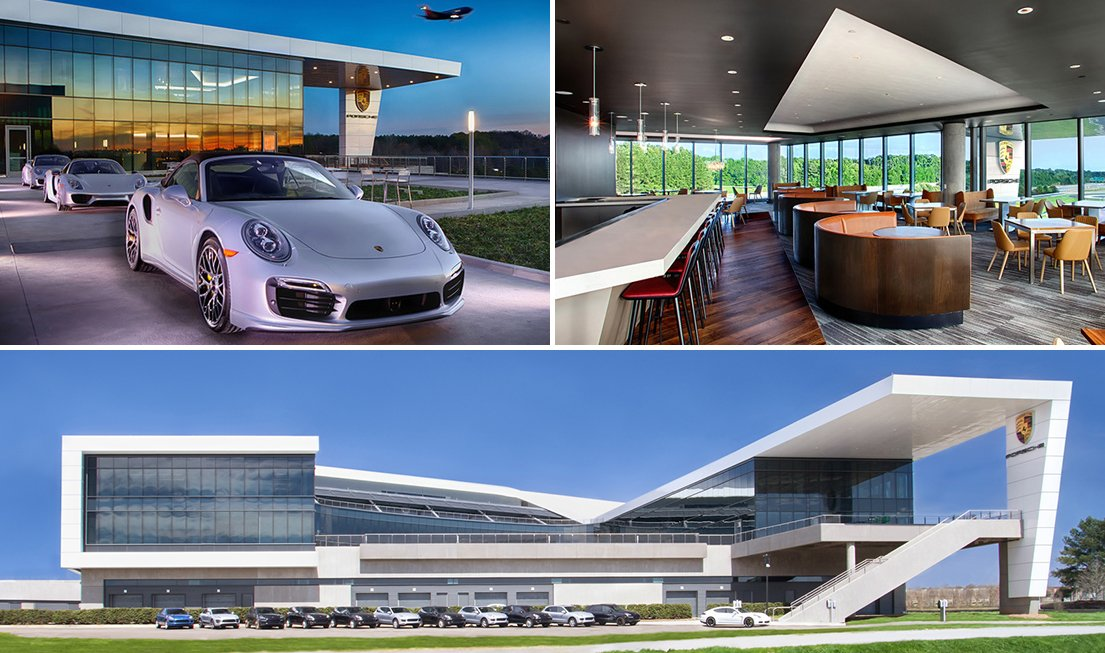 Porsche cars north america opens in atlanta - Les plus belles maison du monde ...