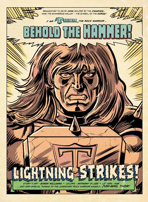 Jon Mikl Thor in Retro Tales
