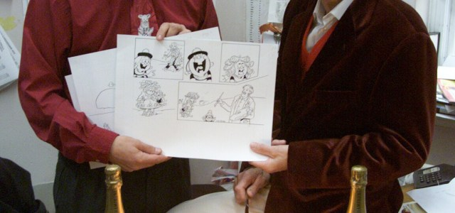 """We're sorry to report the passing of artist Jim Petrie, an artist perhaps best known for his work on The Beano's """"Minnie the Minx"""", a strip he took […]"""