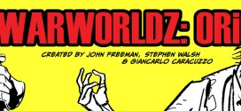 """""""WarWorldz: Origins"""" Launches on Tapastic, second strip for new Shared Universe project"""