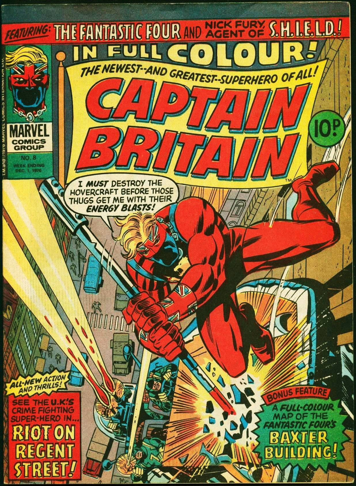 In Memoriam: Herb Trimpe, co-creator of Captain Britain