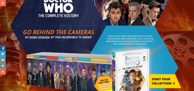"Perhaps as a result of the success of their Doctor Who ""Specials"" the team behind Doctor Who Magazine have gone one stage further with a new joint project with […]"