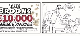 """The Broons"" enlisted for £10K Sunday Post giveaway competition"