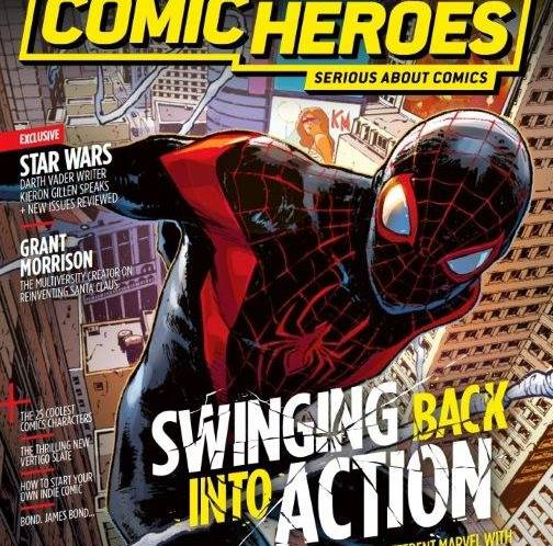 Comic Heroes returns to the News Stand