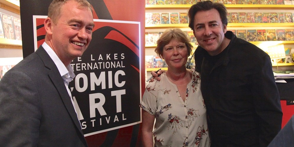 Lakes Festival Auction hosted by Jonathan Ross raises £15,000 for future projects