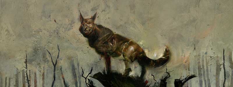 "Dave McKean's ""Black Dog"" heads to Tate Britain"