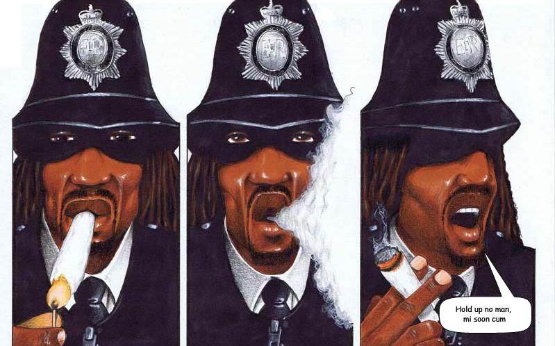 "Skank Magazine's ""Scotland Yardie"" Returns in an all-new graphic novel"