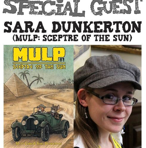 Awesome Comics Podcast Catch Up: Creating Comics with Stuart John McCune and Sara Dunkerton