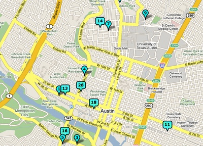Bike shops in Downtown Austin