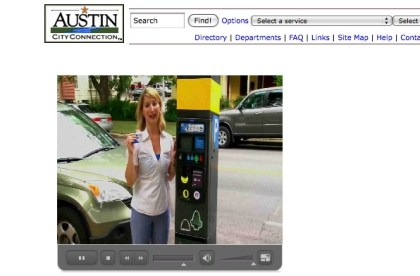 New downtown Austin parking meters