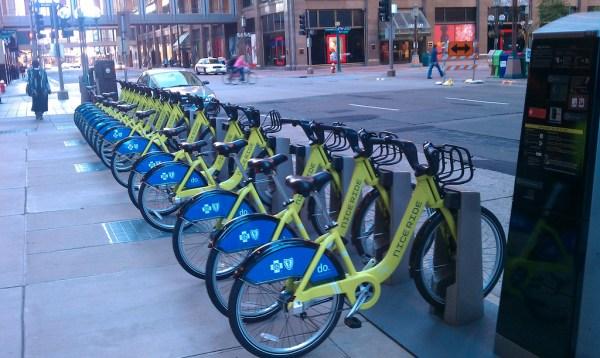 minneapolis bike share