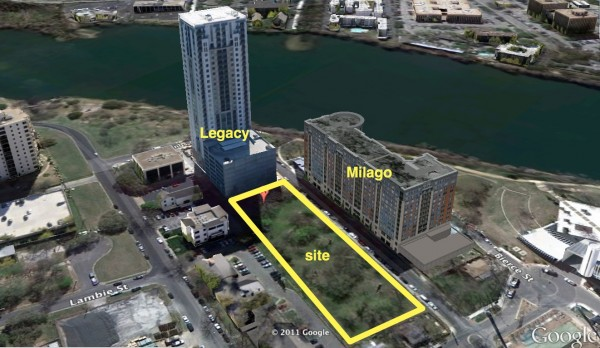 downtown Austin Skyhouse site