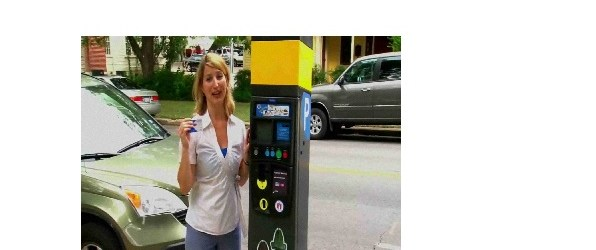 New Parking Meters In Downtown Austin