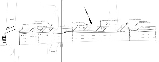 Bike Lane And Back-In Parking Coming To W 6th