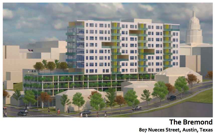 Bremond – A New Downtown Apartment Building Is Proposed