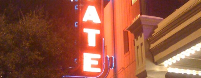 State Theatre Sign Is Back On
