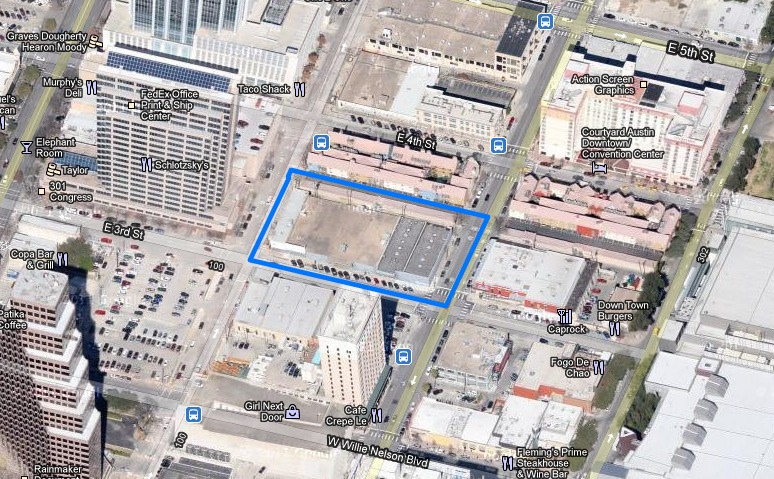 Downtown Austin's Railyard District Getting A New Neighbor?