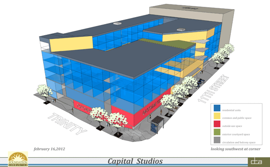 New Renderings Of Capital Studios