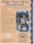 original railyard condos marketing flyer