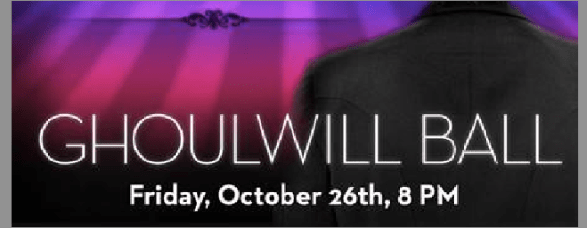 Partying for a Cause – Ghoulwill Ball at The W Tomorrow Night