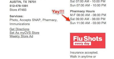 Downtown Austin Pharmacies: CVS Pharmacy Now Open on Weekends