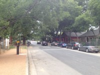 Lets Hug It Out: Rainey Street Traffic