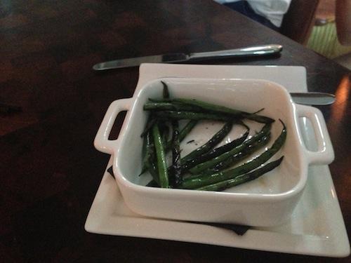 $5 green beans side