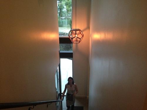 Stairway.  No Va has 2 story dining.