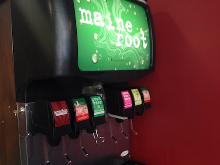 Slake offers Maine Root Soda, yay!