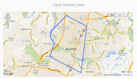 Favor-deliver-area-austin