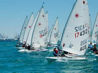 The Laser class nationals will be held in Adelaide this summer for the first time since 2010. Photo: Peter Muirhead