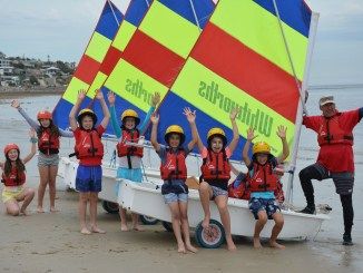 Students from the Seacliff Primary School were the first to take advantage of a Sporting Schools sailing program, which was held at the Brighton and Seacliff Yacht Club this week.