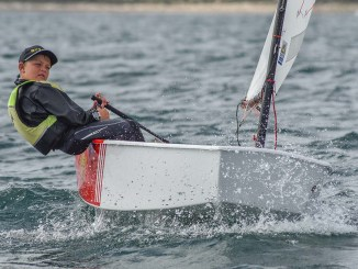 Murphy Cowen finished fourth overall in the Intermediate Fleet at last year's event.