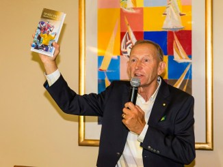The Medal Maker, book launch Victor Kovalneko's biography Middle Harbour Yacht Club 18/5/2017 ph. Andrea Francolini