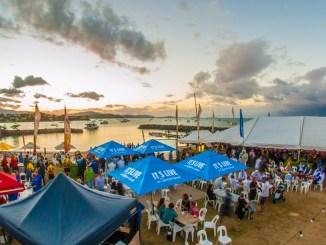 Crews enjoy Airlie Festival of Sailing festivities. Photo: Vampp Photography