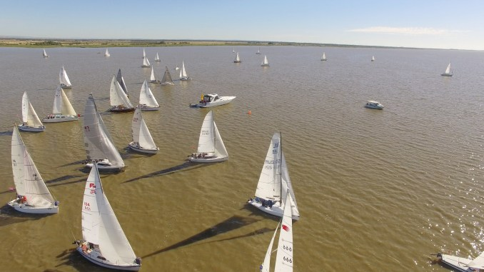 The Milang-Goolwa Freshwater Classic race is always competed in by a diverse fleet.