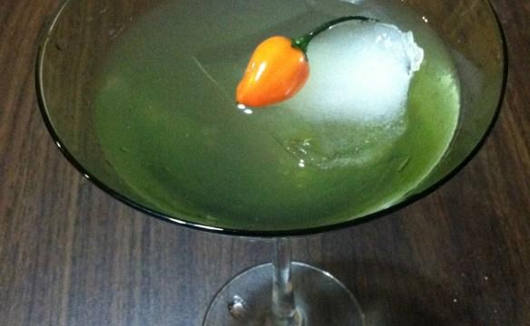 habanero-martini