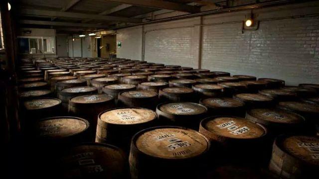 barrels of scotch