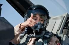 UAE fighter pilot Mariam al-Mansouri