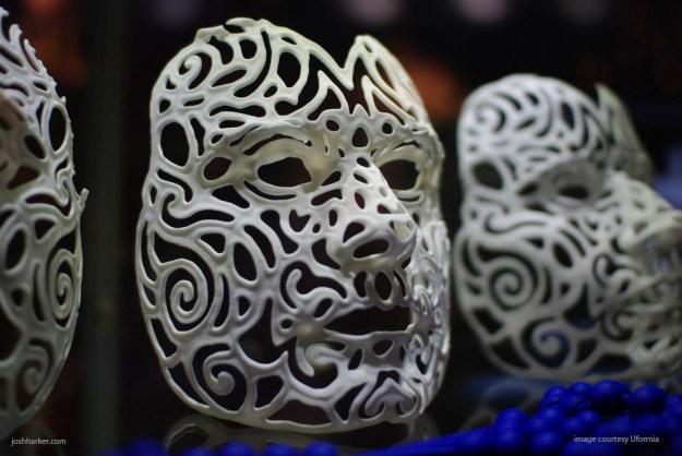 Custom 21st Century Portrait Mask