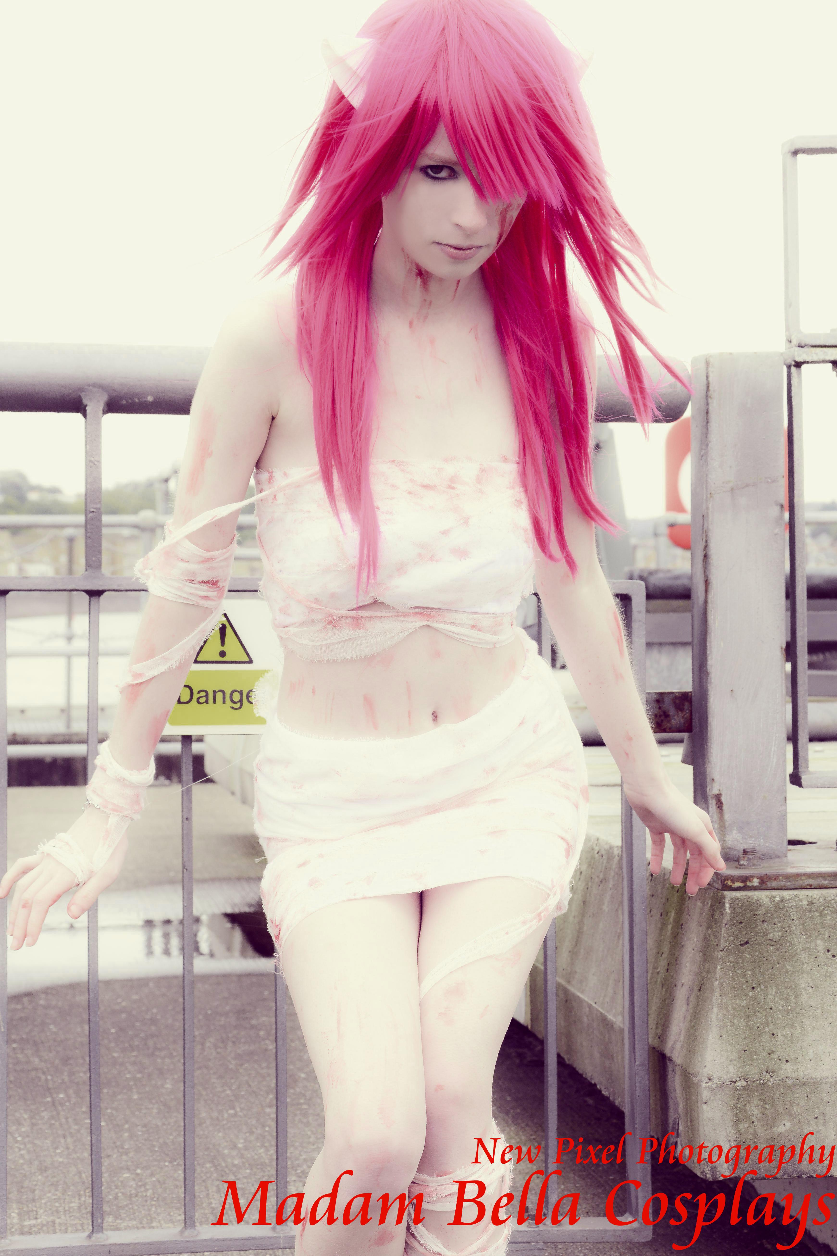 Elfen Lied Lucy Bandaged Cosplay Print 4 on Storenvy original