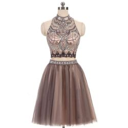 Relaxing Beading Homecoming Two Piece Prom Junior Short Homecoming Beading Homecoming Two Piece Prom Junior Two Piece Homecoming Dresses 2016 Two Piece Homecoming Dresses Near Me wedding dress Two Piece Homecoming Dresses