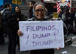 Filipinos Dump Trump