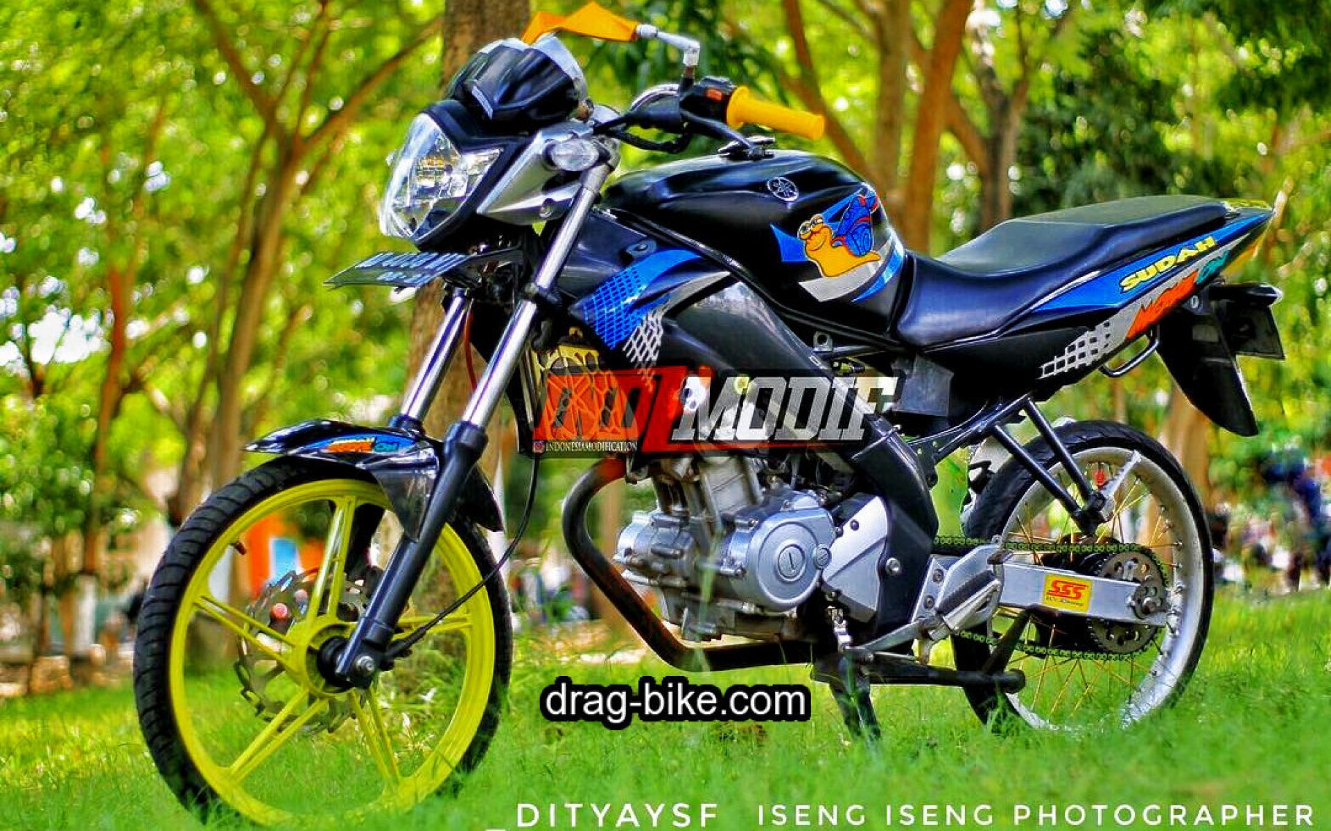 Gambar Modifikasi Motor Kontes Vega Zr