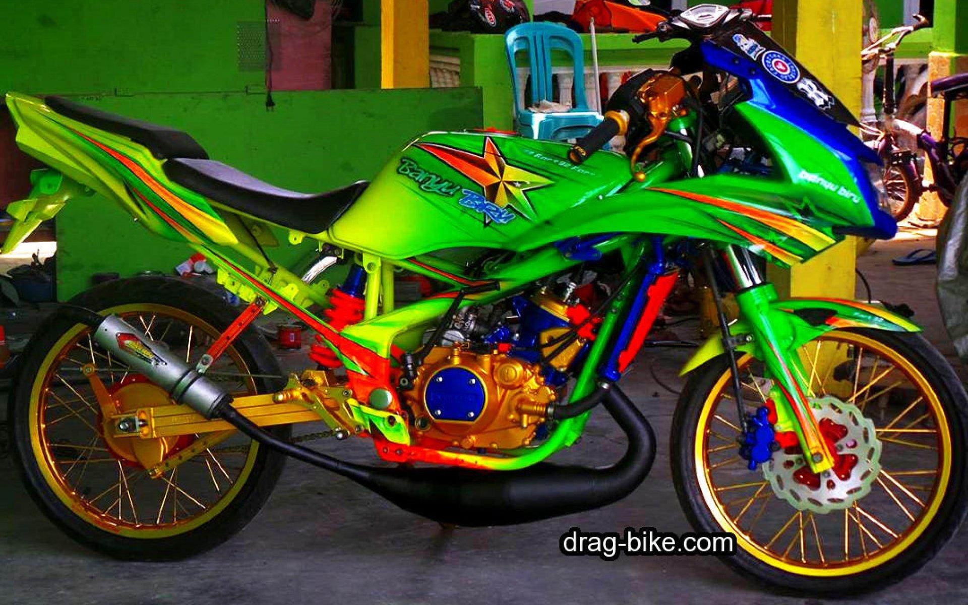 Foto ninja drag bike 83