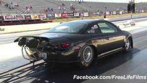83 Year-old Willard Kinzer Crashes at NMCA Atlanta Event