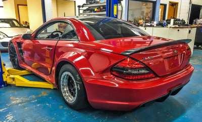 Speedriven Mercedes