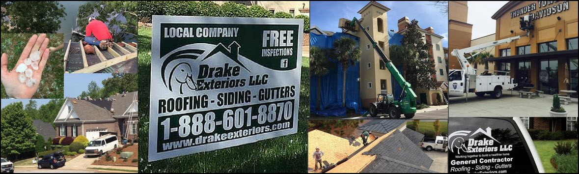 Dake Exteriors Sc Roofer Header