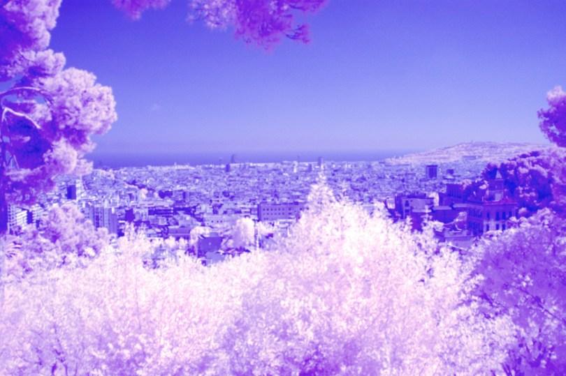 IR View over City - Barcelona